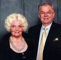 Chamber Scholarship Founder Gloria Davis JD Davis