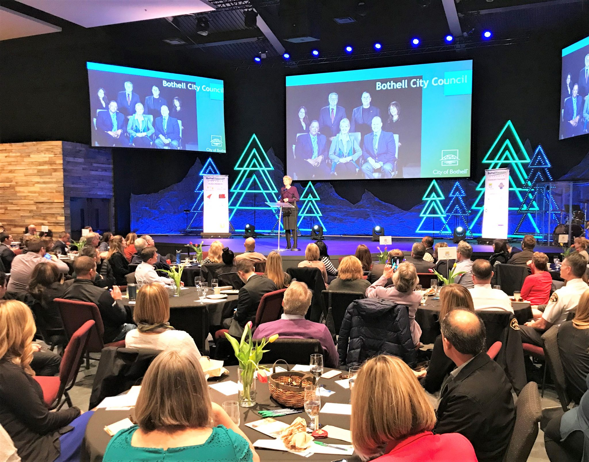 Bothell Kenmore Chamber of Commerce 2019 State of the City of Bothell Address Luncheon