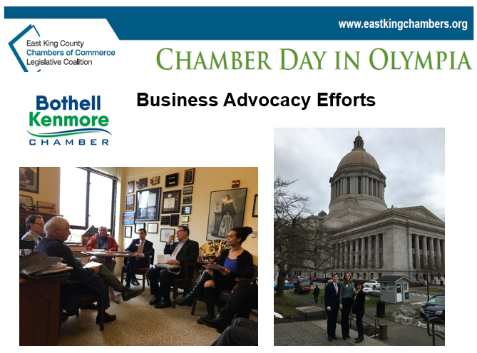 Bothell Kenmore Chamber Attends 2019 Chamber Day in Olympia