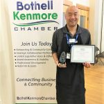 Bing Teng, Franchise Owner at Supercuts Bothell is named Chamber Member of the Month February 2019