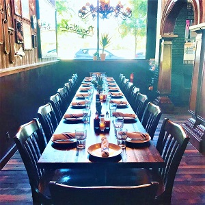 Separate Semi-Private Dining Room at Poquitos Bothell
