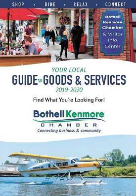 Click here to view the 2019 - 2020 Guide To Goods & Services Published by the Bothell Kenmore Chamber of Commerce