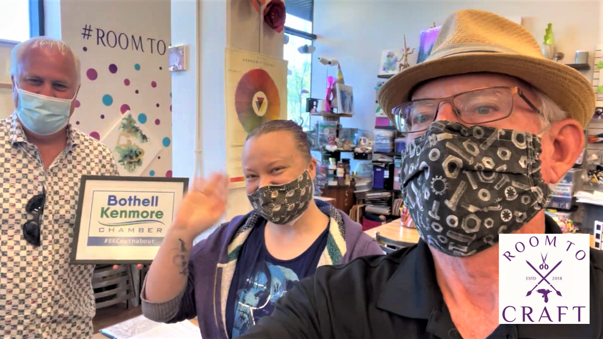 Meet the owner of Room to Craft in our Out-n-About Video